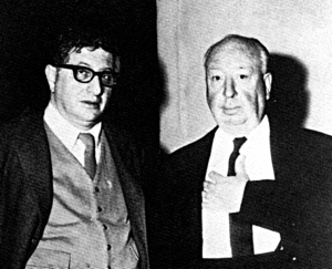 Bernard Herrmann with Alfred Hitchcock